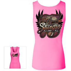 LADIES BIG 75TH TANK TOP
