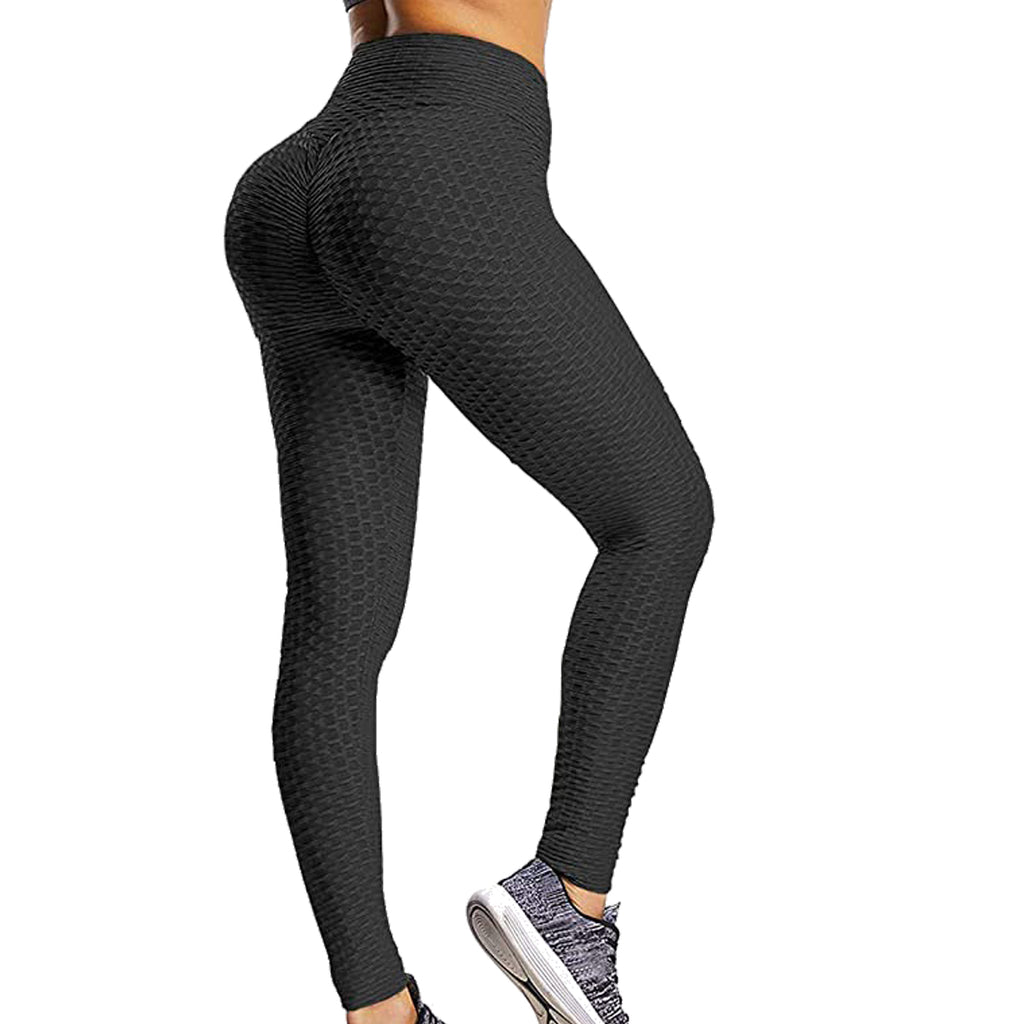 Ladies Sexy Textured Booty Lifting & Shaping Leggings