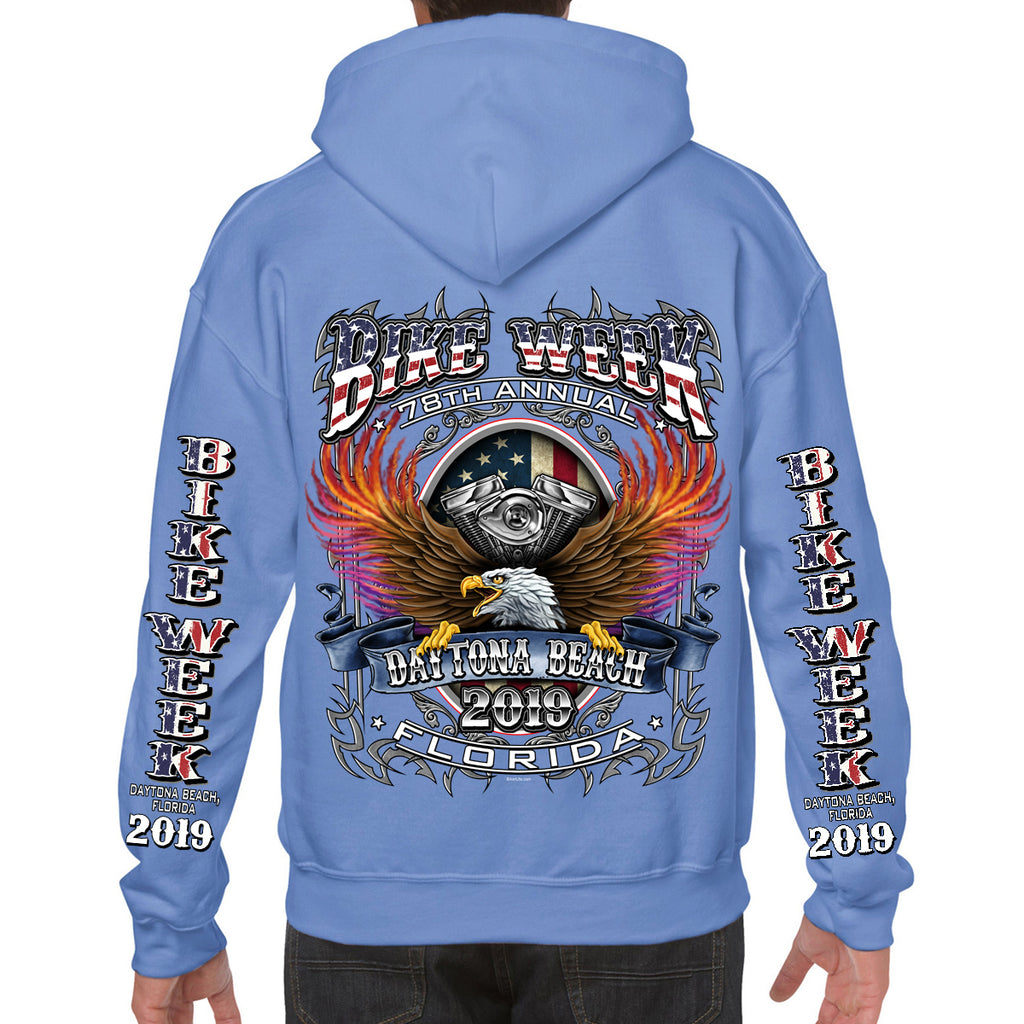 2019 Bike Week Daytona Beach B-Strong Pullover Hoodie