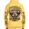 ck of 2019 Sturgis Main Street Engine Zipper Hoodie in Yellow