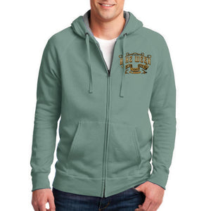 2019 Bike Week Daytona Beach Main Street Engine Zip-Up Hoodie