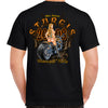 Nostalgia 2008 Sturgis Motorcycle Rally Tribal Chick T-Shirt