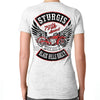 Ladies 2019 Sturgis Black Hills Rally Rocker Billy Burnout V-Neck T-Shirt