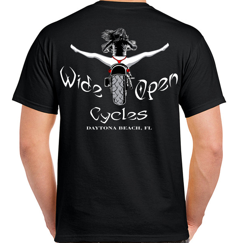 Wide Open Cycles Spread Eagle T-Shirt
