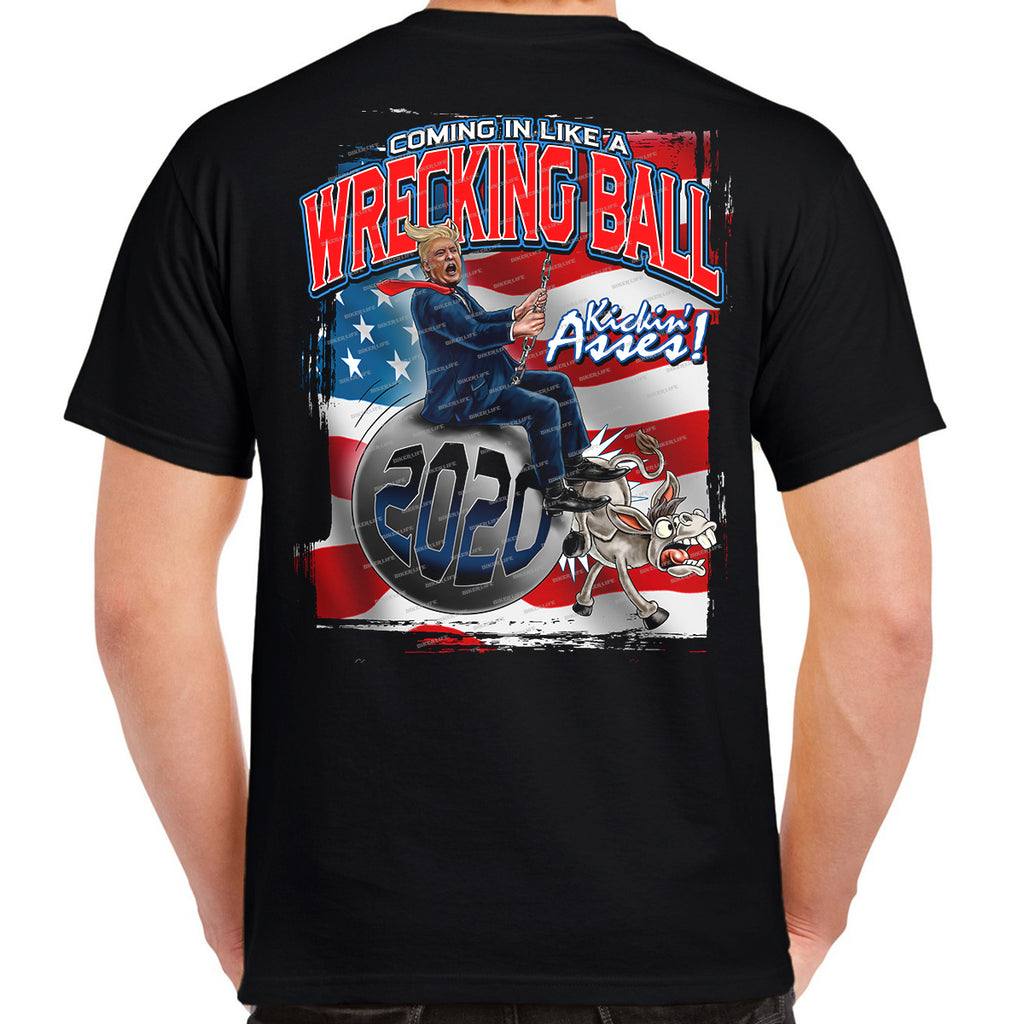 Trump Wrecking Ball T-Shirt