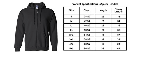 2017 Sturgis B-Strong Zip Up Hoodie