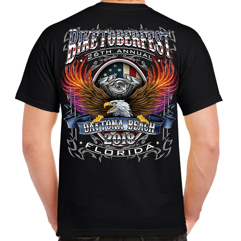 2018 Biketoberfest Daytona Beach B-Strong T-Shirt