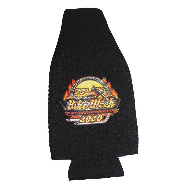 2020 Bike Week Daytona Beach Official Logo Bottle Koozie