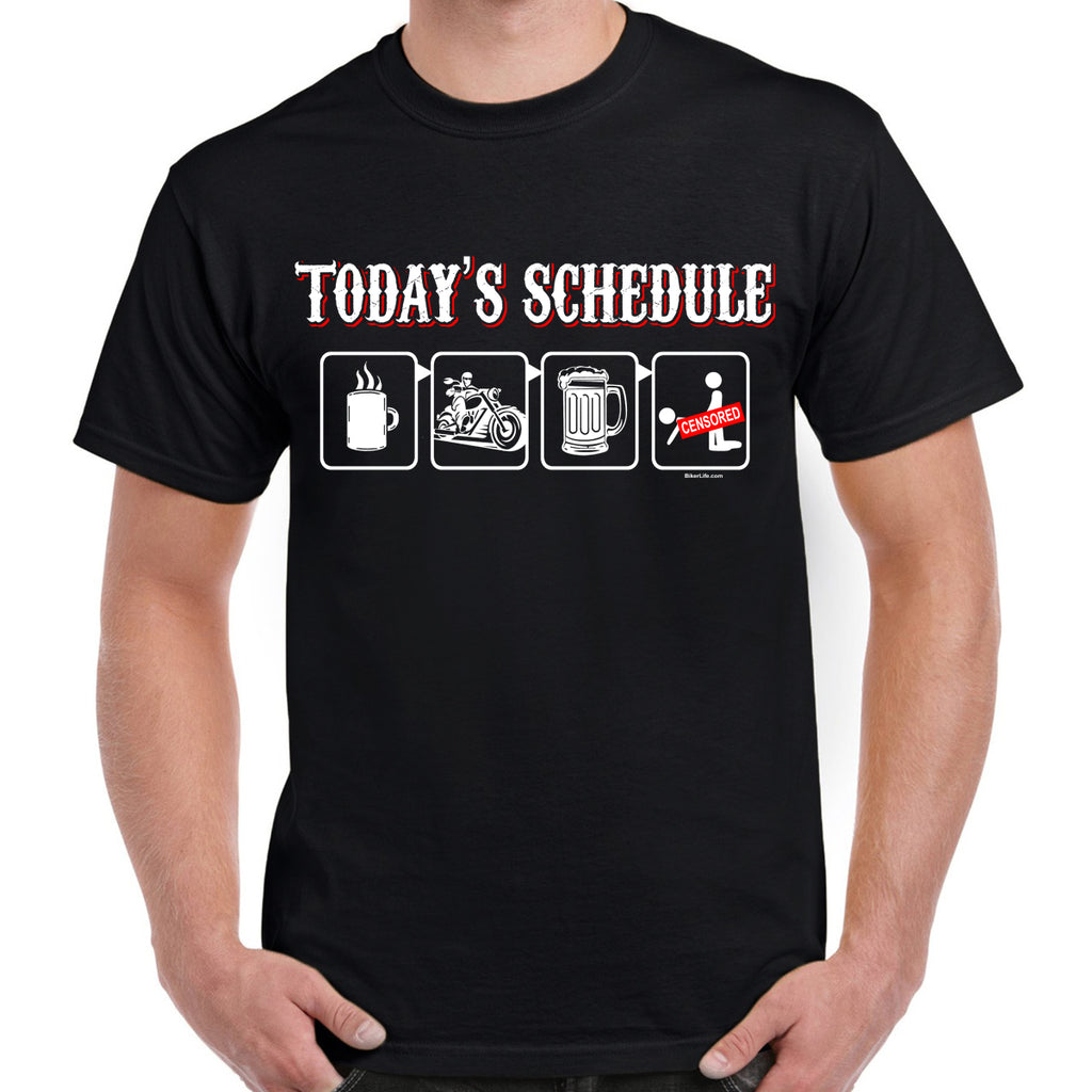 Today's Schedule T-Shirt