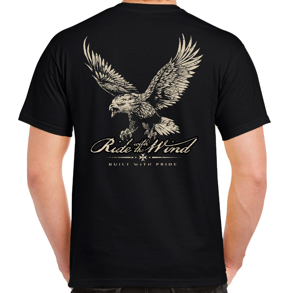 Ride With The Wind Eagle T-Shirt