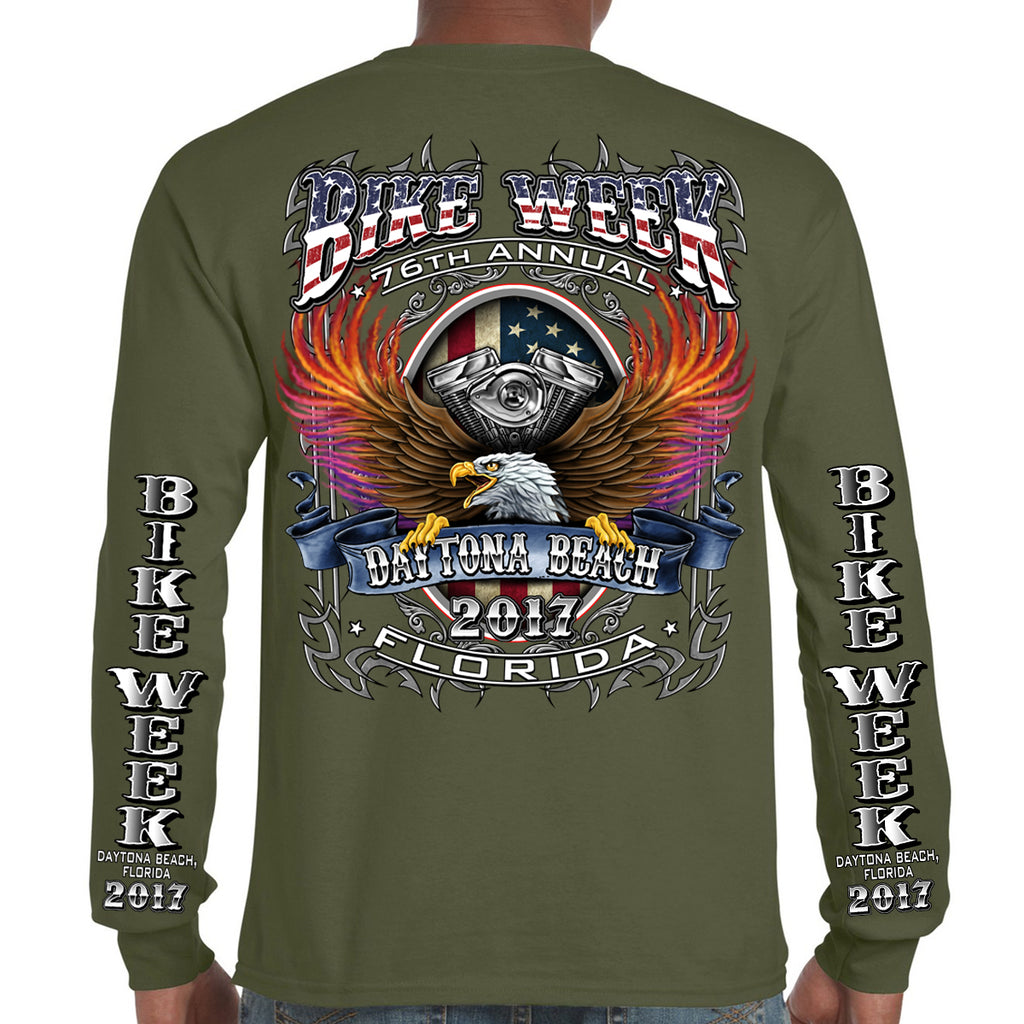 2017 Bike Week Daytona Beach B-Strong Long Sleeve Shirt