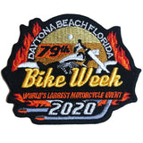 2017 Biketoberfest Daytona Beach Official Logo Patch