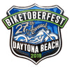 2019 Biketoberfest Daytona Beach Official Logo Pin