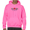 2018 Bike Week Daytona Beach Embroidered Tribal Rose Pullover Hoodie