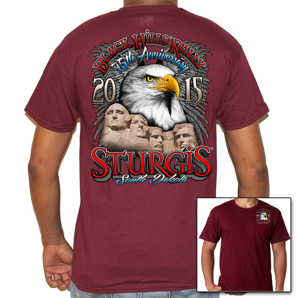 Eagle Rushmore Sturgis 2015 Pocket Tee