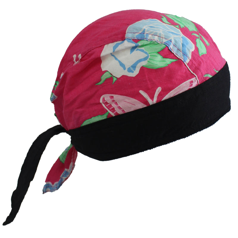 Butterfly Flowers Du-Rag