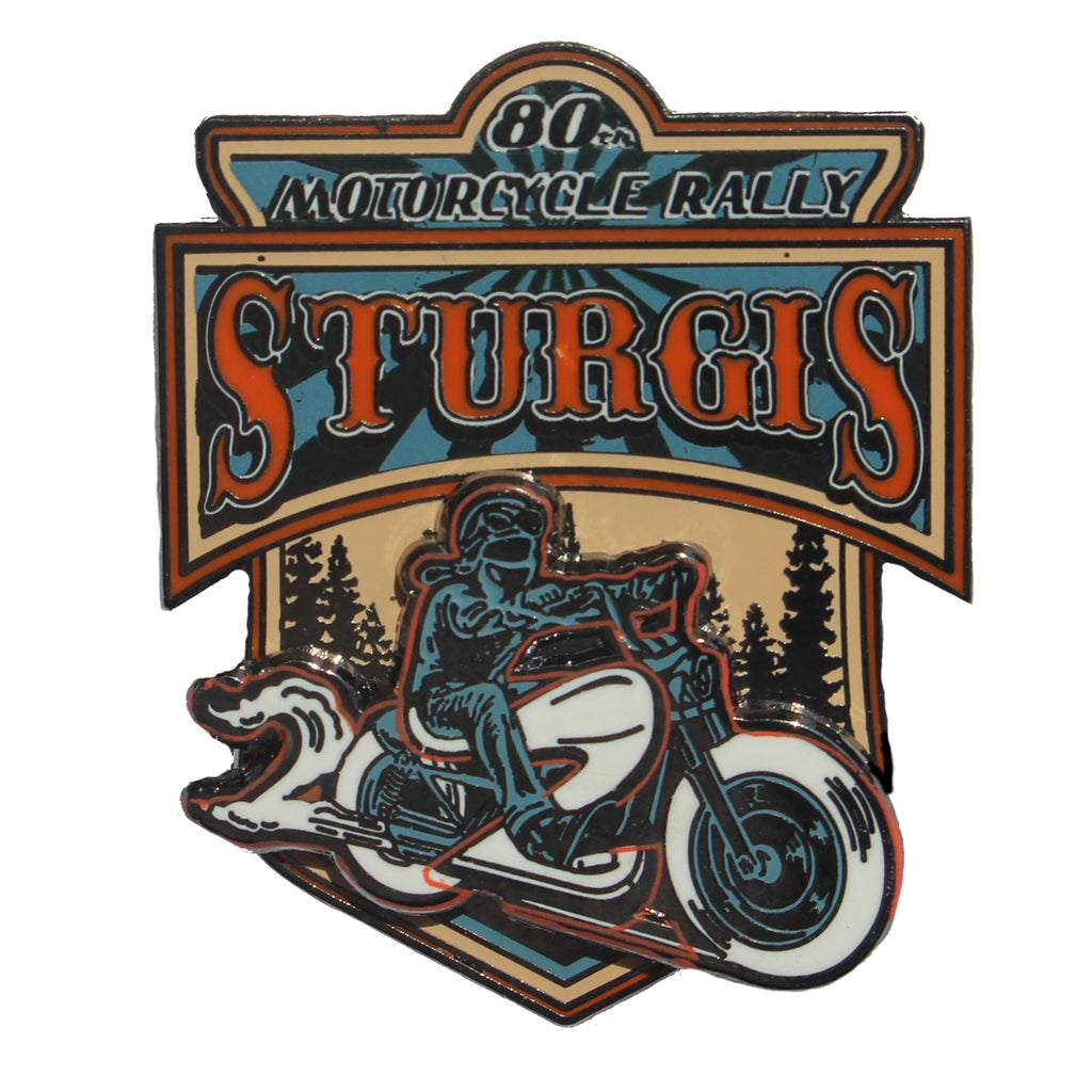 2020 Sturgis Motorcycle Rally Rider Pin