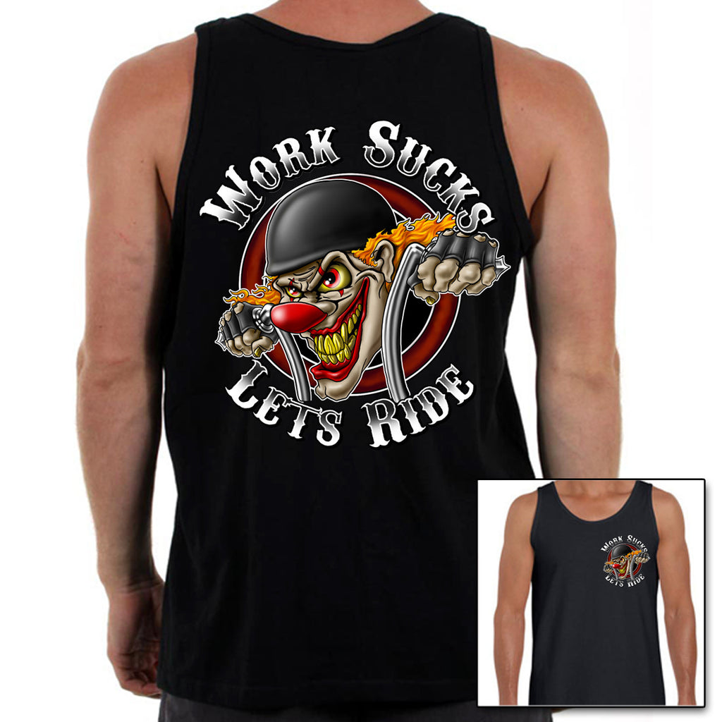 Work Sucks Tank Top