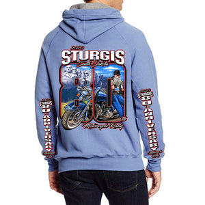 2020 Sturgis Motorcycle Rally 80th Anniversary Pullover Hoodie