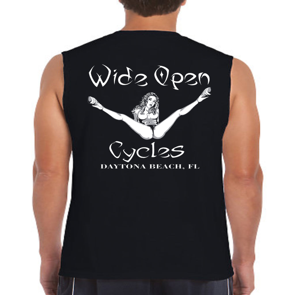 Wide Open Cycles Original Sleeveless Tee
