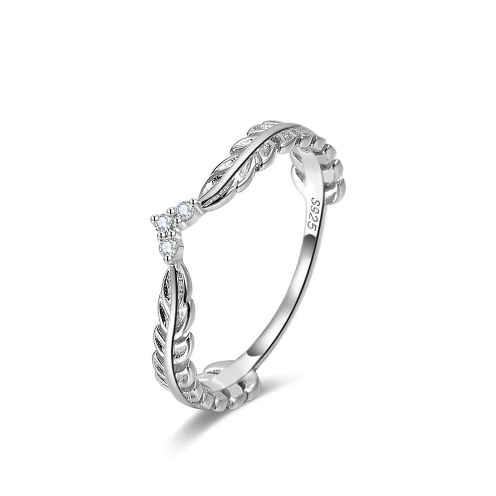 Silver Laurel Wreath Ring-Ring-MEI & CO