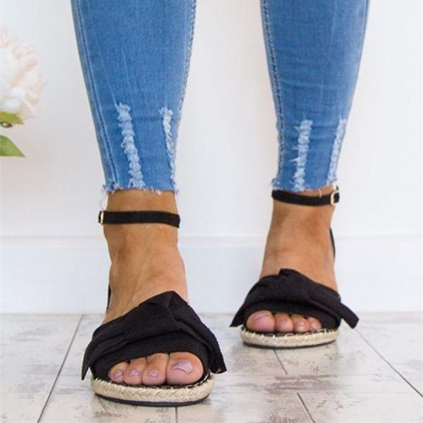 Thishoes Flat Buckle Breathable Sandals