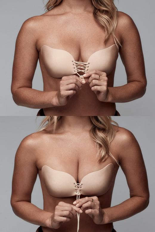 UNDERCOVER Style Helpers Magic Bra Nude
