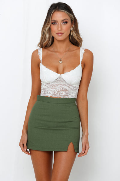 Just Like Starlight Bralet White