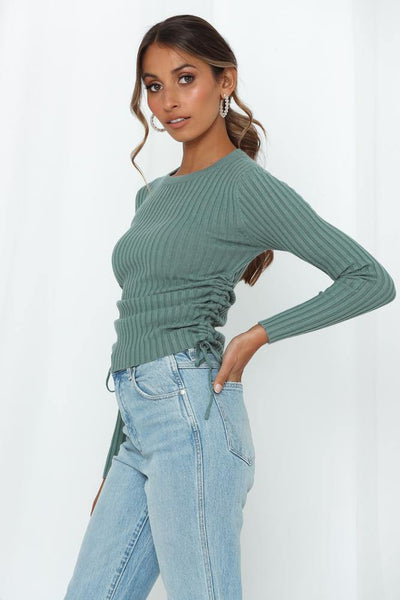 Ronda Knit Top Teal