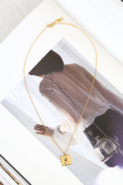 Emilina Necklace Gold | Hello Molly