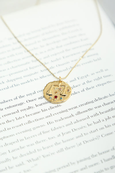Show Your Star Necklace Libra