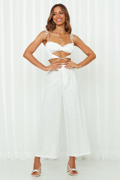 Staple Stelly Pants White