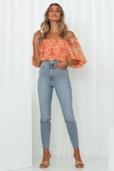 LEE Hourglass High Licks Crop Jeans Glory Blue