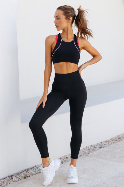 ELETTE FIT All For One Crop Leggings Black