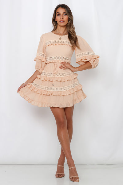 Play Along Dress Nude