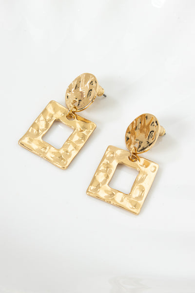 Woman Of The House Earrings Gold | Hello Molly