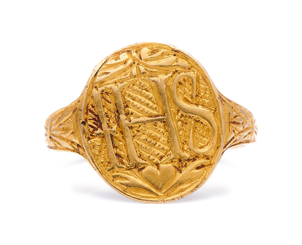 Early, Gold, Signet Ring