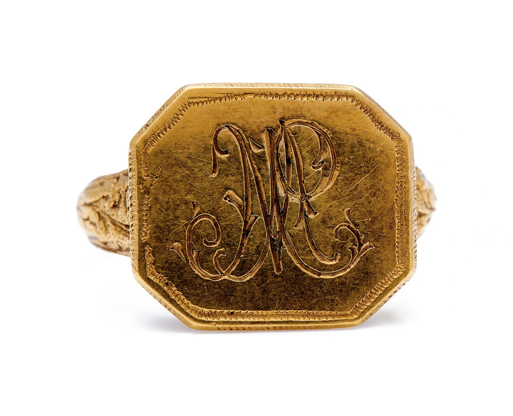 Antique Georgian, 18th Century, Gold Signet Ring