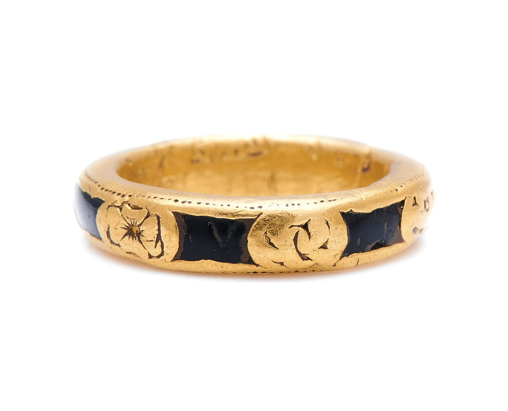 Early, Gold, Memento Mori Ring