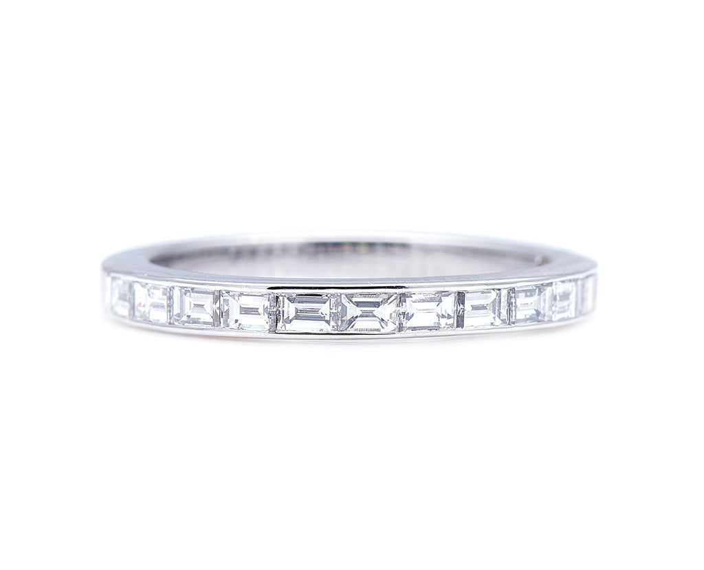 Vintage, Chaumet Diamond Half-Eternity Ring