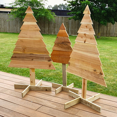 Freestanding Christmas Trees