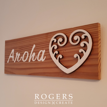 "Load image into Gallery viewer, Wall Art - ""Aroha"""