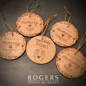 Memory Christmas Tree Decorations