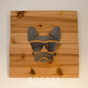 "IN STOCK:  Wall Art - ""Frenchie"""