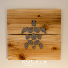 "Load image into Gallery viewer, IN STOCK:  Wall Art - ""Turtle"""