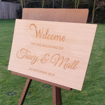 Load image into Gallery viewer, Hardwood Signs - From $30