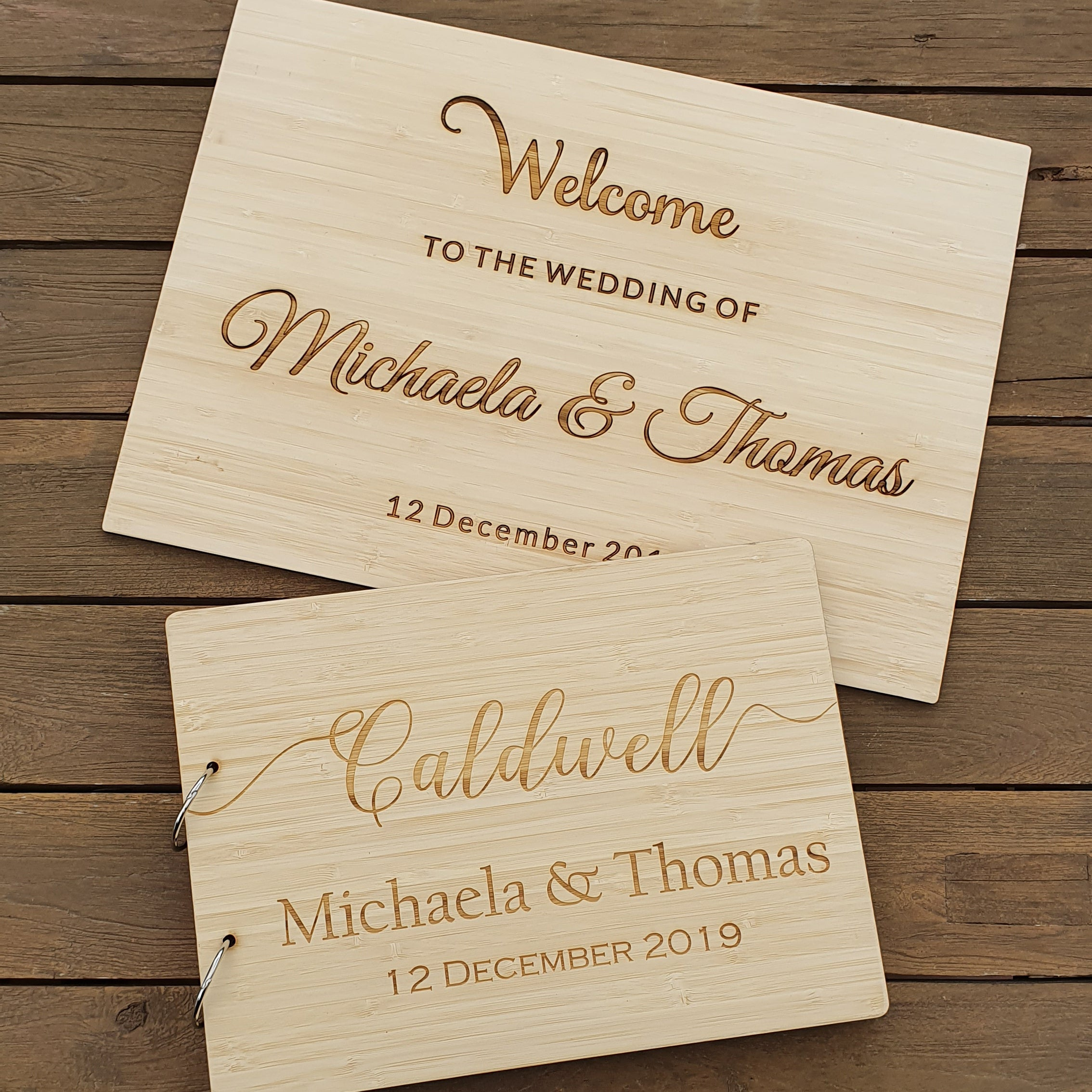 Hardwood Signs - From $30