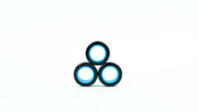 Load image into Gallery viewer, MAGNETIC RINGS. Black-Blue. Size M