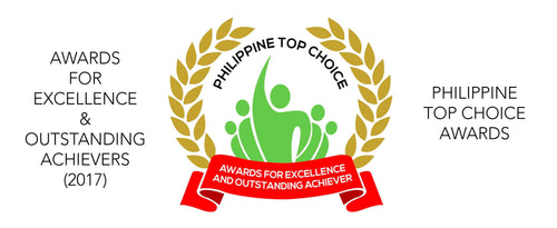 Philippine Top Choice: for excellence & outstanding achiever 2017