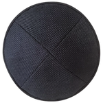 NF Black Burlap with Rim